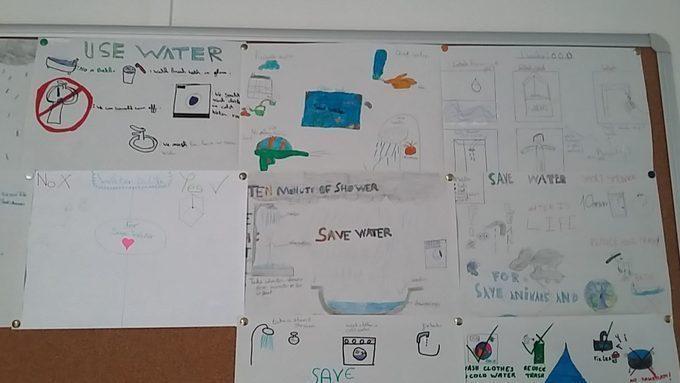 Affiches sur le thème de l'eau